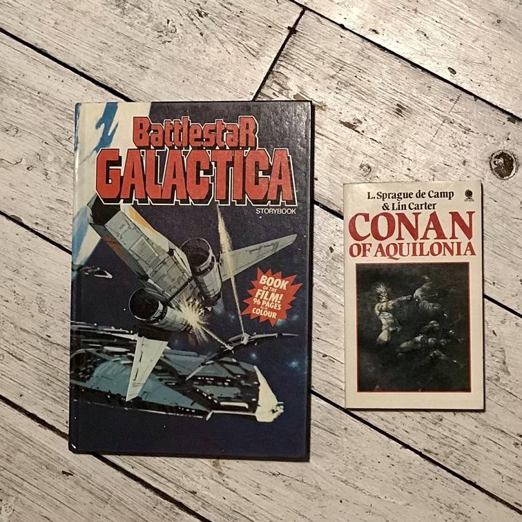 Galactica & Conan
