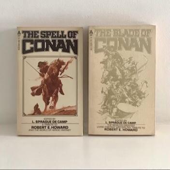 The Spell of Conan / The Blade of Conan